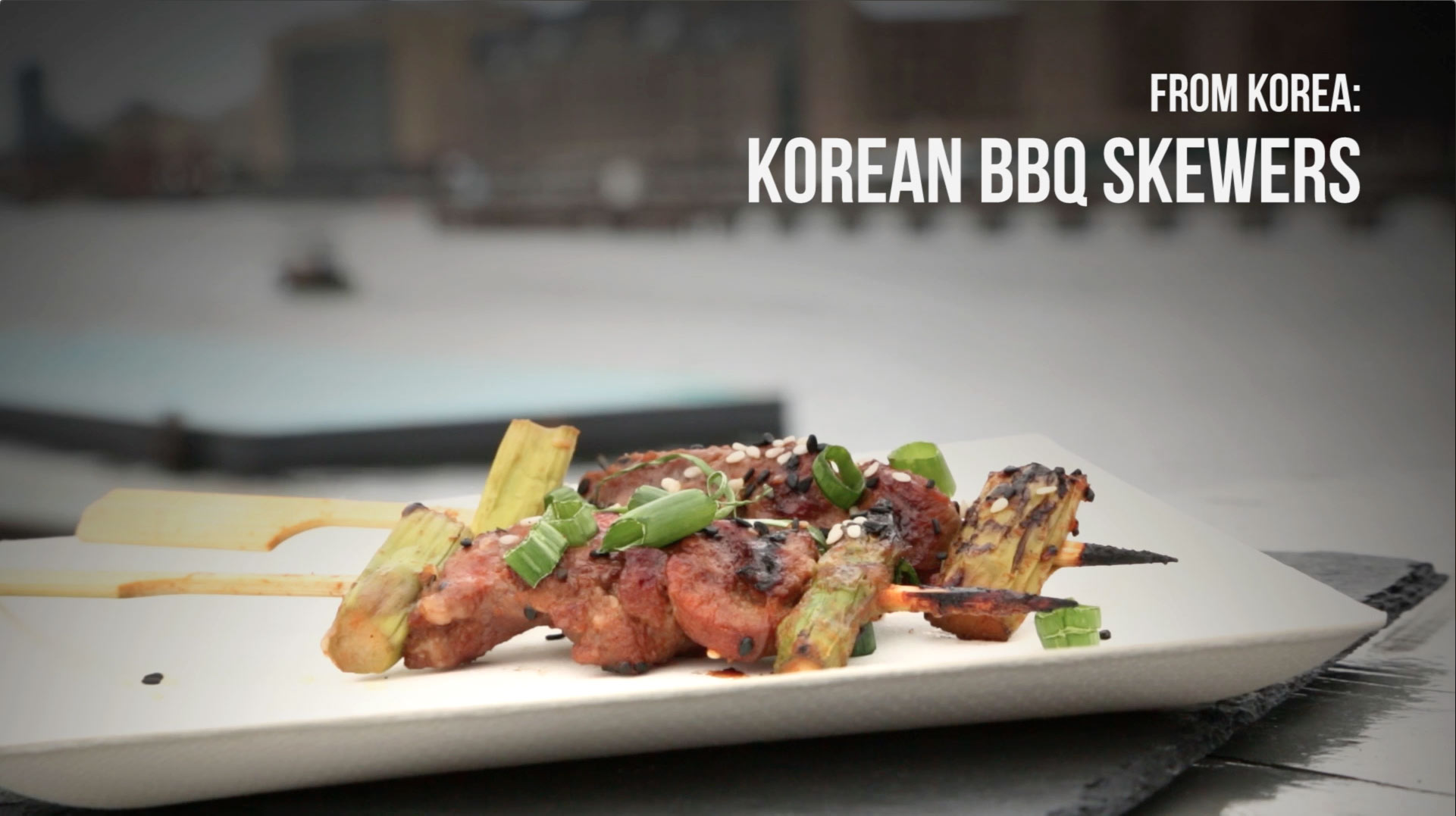 Korean Barbecue Skewers Asparagus Spargel International