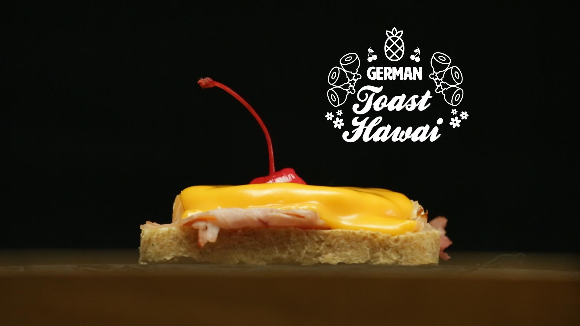 Toast Hawai recipe sandwich germany