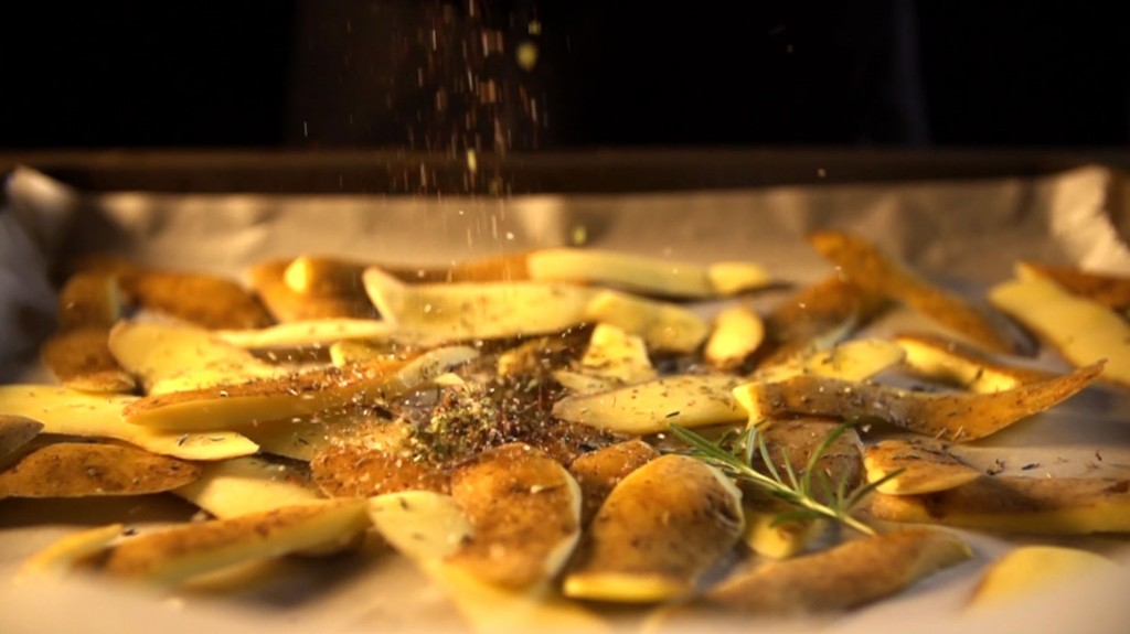 potato skin chips recipe potato peels oven how to