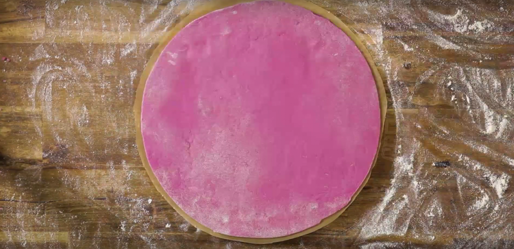 recipe pink pizza dough