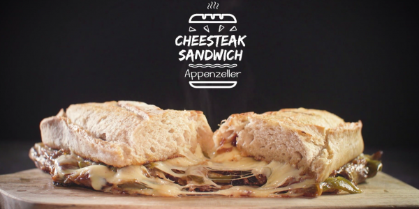 Appenzeller Cheesesteak Sandwich