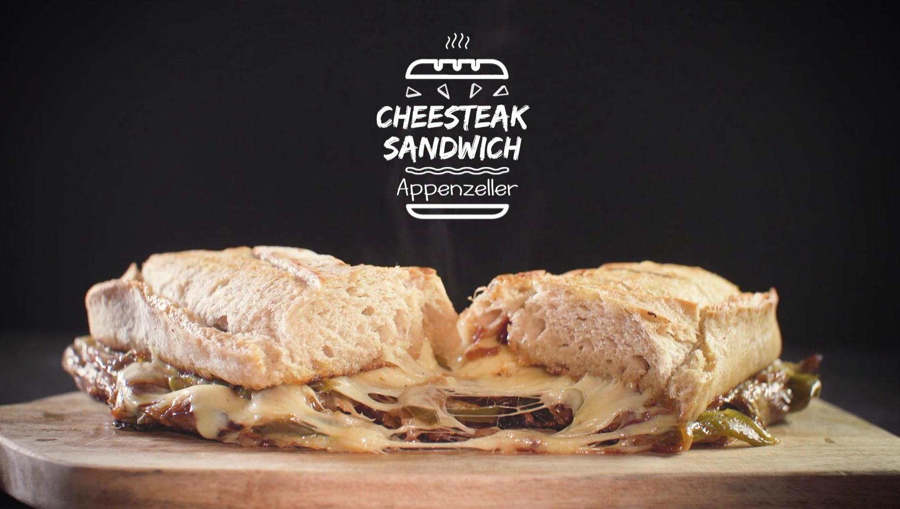 Recipe: Appenzeller Cheesesteak Sandwich