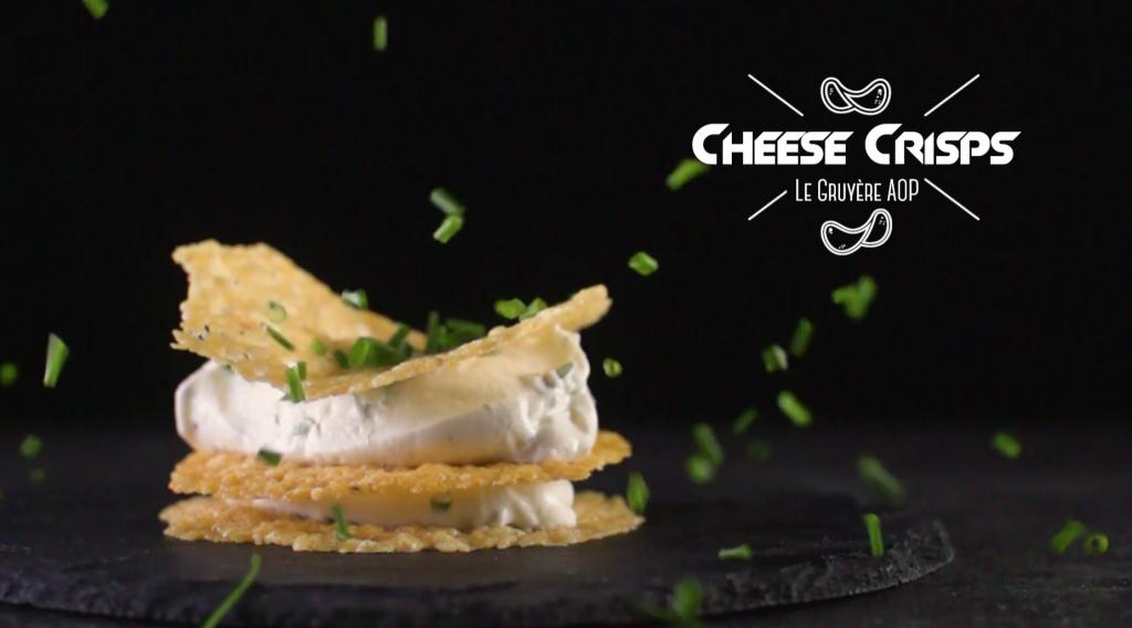 Gruyere Cheese Crisps