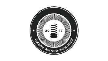 Webby Honoree 2017 food